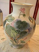 Painted Porcelain Vase - Toyd