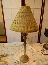 Metal Lamp Hand Crafted