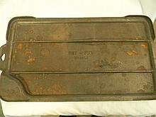 Cast Iron Dry Griddle