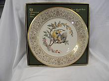 Lenox Limited Edition 1973 Meadowlark Plate