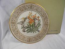 Lenox Limited Edition 1981 Eastern Phoebe Plate