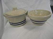 2 Roseville Pottery Bowls