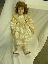 Porcelain Elsie Doll