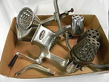 Vintage Griscer Deluxe Graters