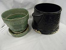 2 Mccoy Pottery Planters
