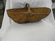 Wicker Fanny Basket
