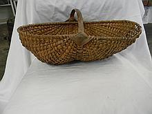 Wicker Fanny Basket