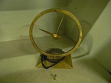 Vintage Jefferson Gold Hour Electric Clock