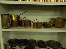11 Piece Copper Cook Set William Prym
