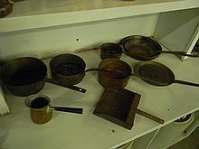 9 Piece Copper Cook Set