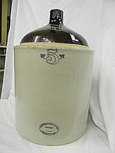 Vintage Western Stoneware 5 Crock