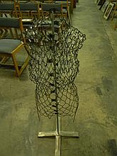 Retro Fitted Wire Manequin