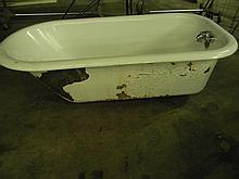 Antique Claw Foot Iron Tub