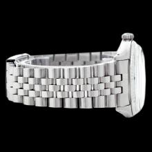 Lot 5060: Rolex Ladies Stainless Steel, Diamond Dial with Fluted Bezel, Sapphire Crystal - REF-321A8N