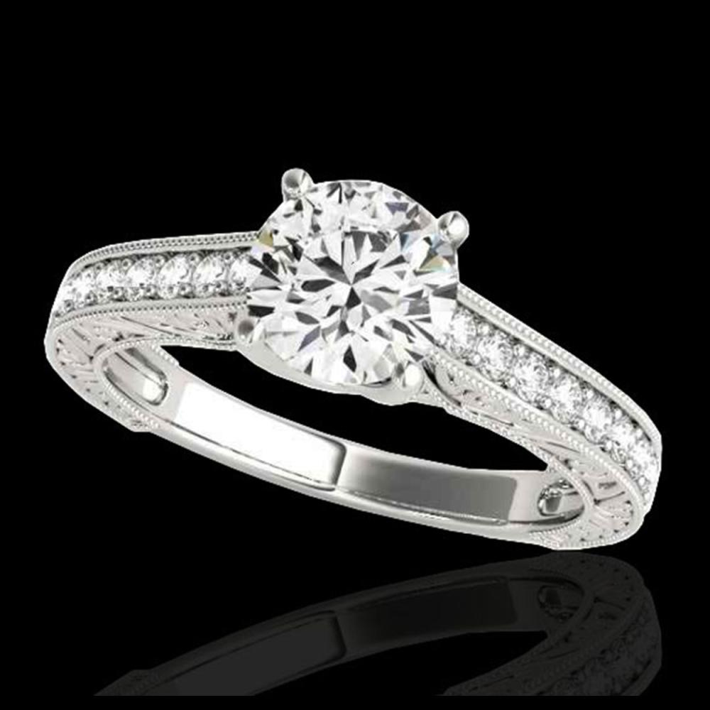 1.82 ctw H-SI/I Diamond Solitaire Ring 10K White Gold - REF-254X4R - SKU:34952