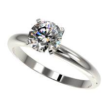 Genuine 1.25 CTW Certified H-I Quality Genuine Diamond Solitaire Engagement Ring Gold - 32903-REF#110H8R