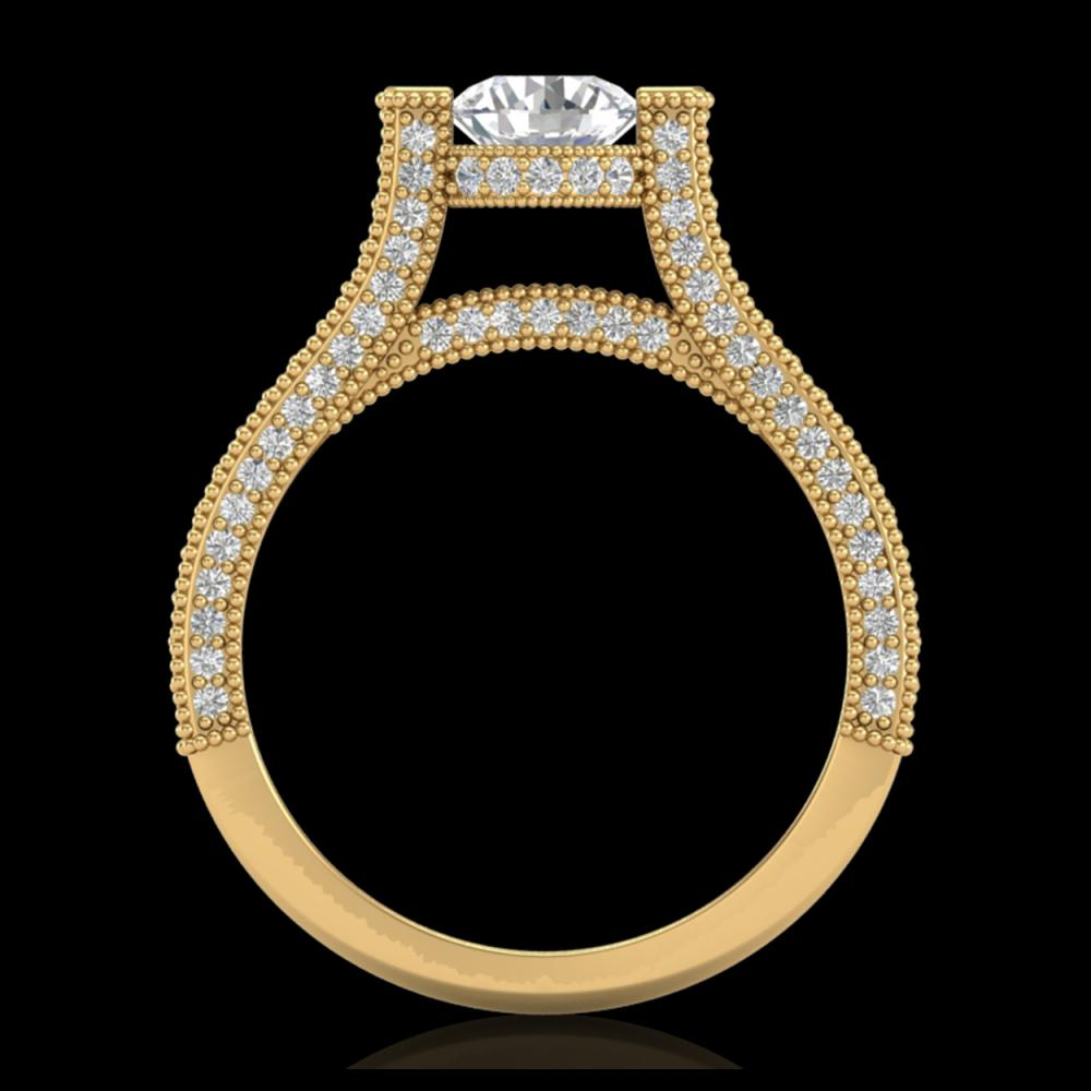 2 ctw VS/SI Diamond Ring 18K Yellow Gold - REF-290A9V - SKU:36949