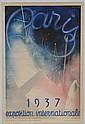 1937 Paris International Exposition Poster