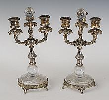 Pair of Pairpoint Candelabra
