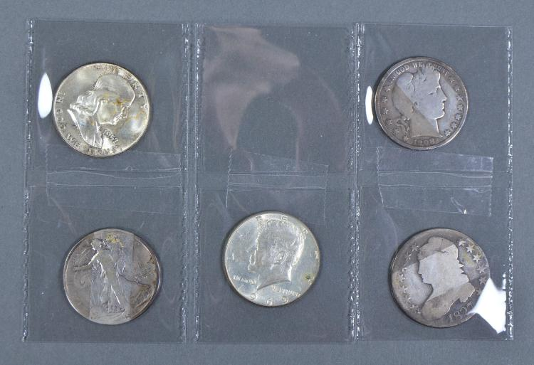 Half Dollar Type Set