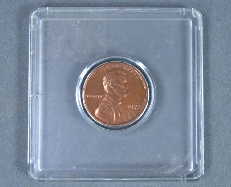 1972 Double Die Cent