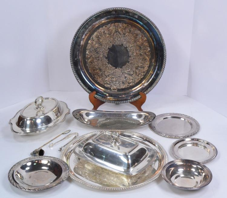 Bx Misc Silverplate Holloware