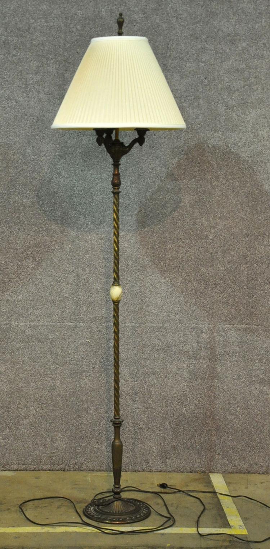 Iron Onyx Floor Lamp