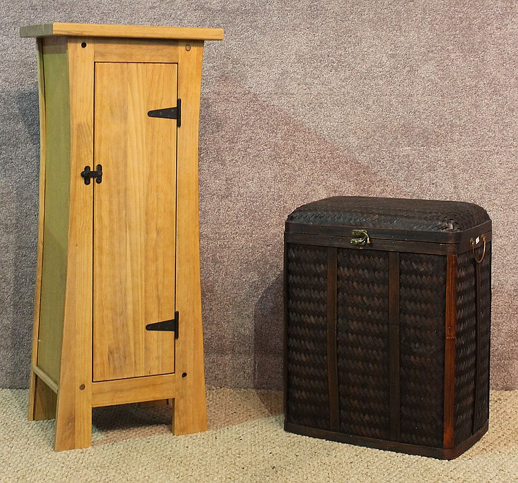 Arts crafts style storage cabinet for Arts and crafts storage cabinet