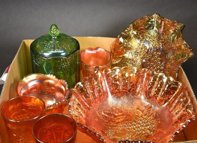 Bx Carnival Glass