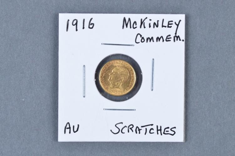 Very Scarce 1916 McKinley Comm. Gold Coin
