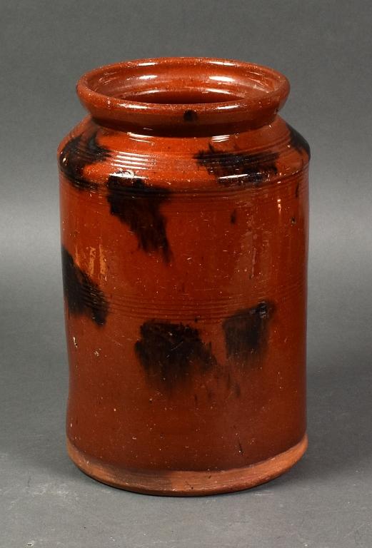 Great Road Redware Storage Jar