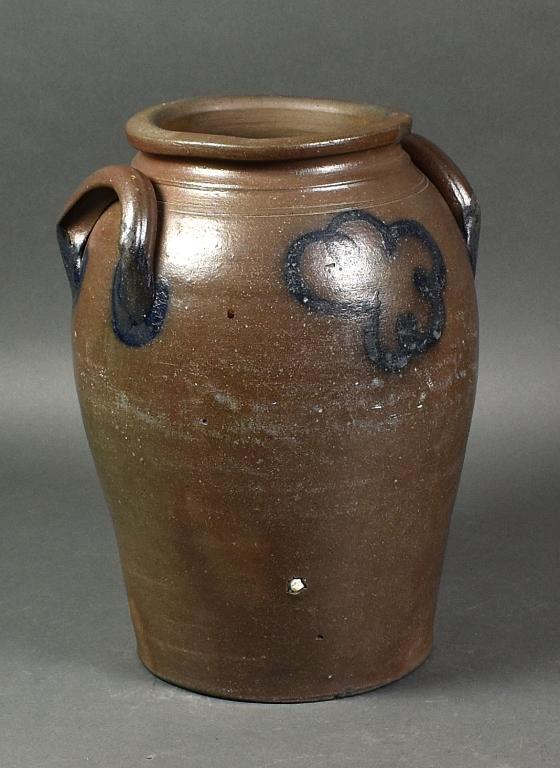 Ovoid Stoneware Storage Jar