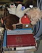 Two Boxes Stuffed Animals and Books