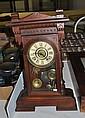 Walnut Gilbert Clock Company Mantel Clock