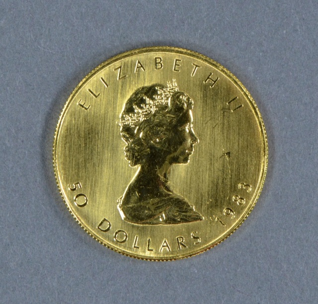 1983 Canadian 1 oz. Gold Maple Leaf Coin
