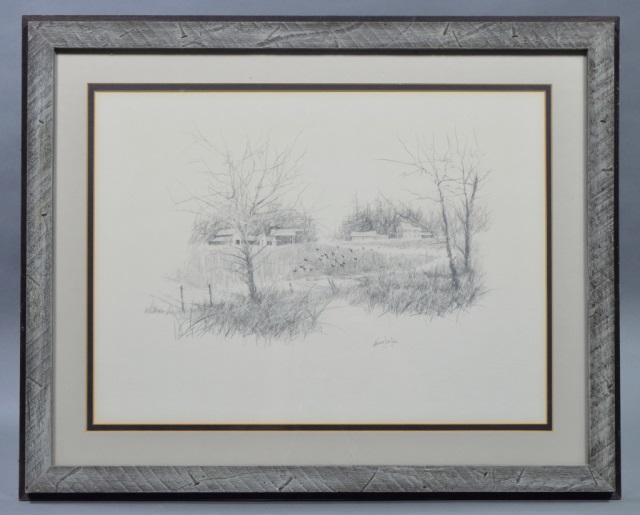 Herb Jones Pencil Sketch