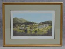 Edward Beyer, Album of Virginia, White Sulphur Spr