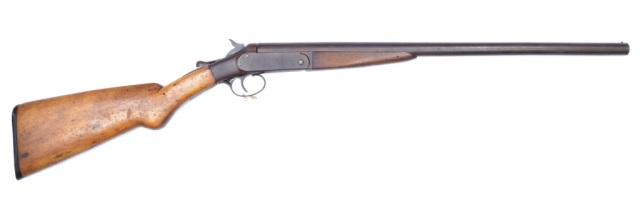Iver Johnson Single Barrel Shotgun**