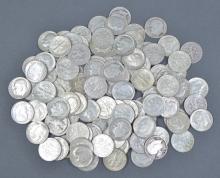 114 Silver Roosevelt Dimes