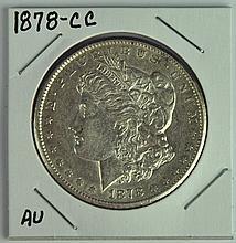Very Scarce 1878-CC Morgan Dollar