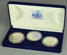 Three Nice BU Morgan Dollars