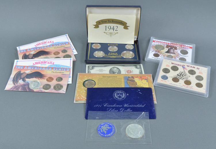 Americana Group of Coins