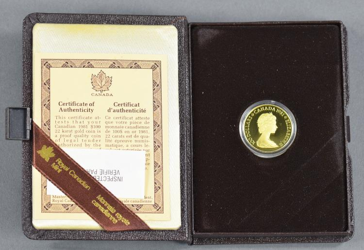 Canadian 1/2 Oz. Gold Proof Coin