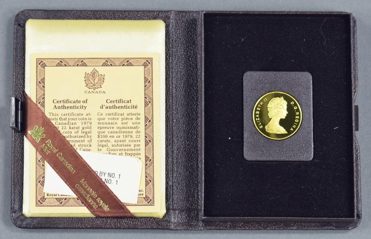 """Canadian 1/2 Oz. """"Year of the Child"""" Gold Coin"""