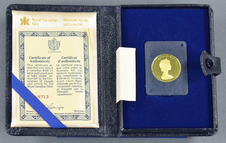 """Canadian 1/2 Oz. """"Flying Geese"""" Gold Proof Coin"""