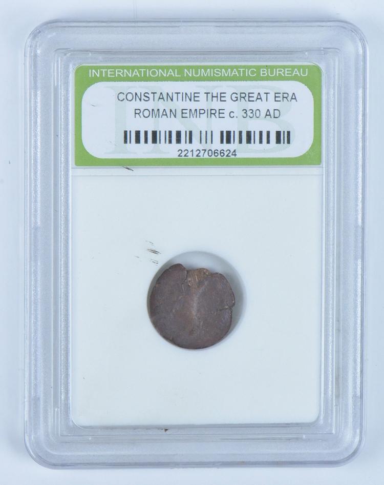 Roman Bronze Coin Constantine the Great