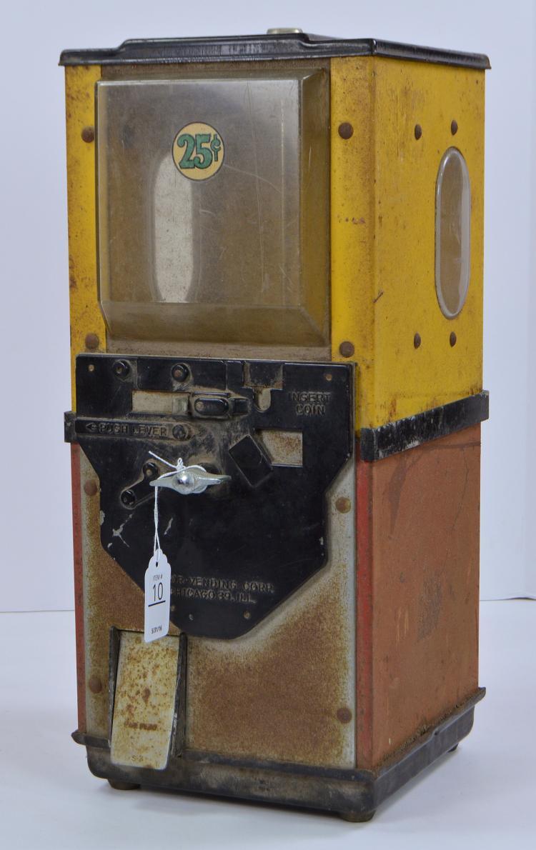Victor 25-Cent Supermart Gumball Machine