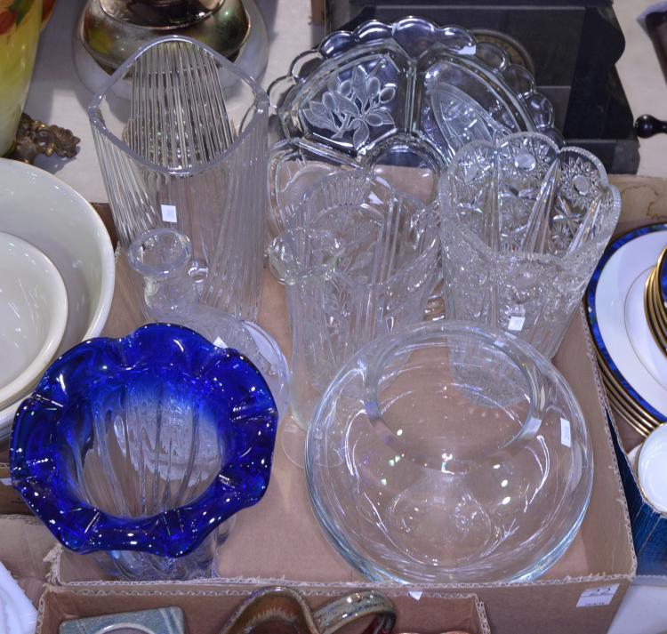 Bx Crystal Vases & Glassware
