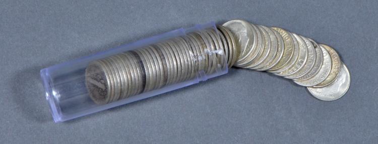52 Silver Dimes