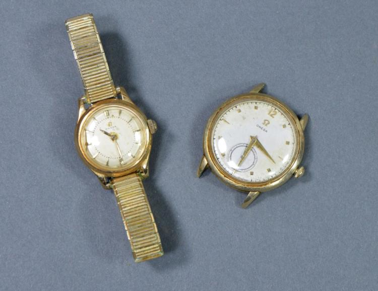 2 Omega Wrist Watches